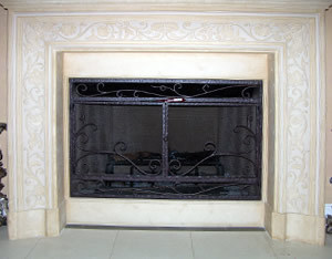 Reja Fireplace Screen